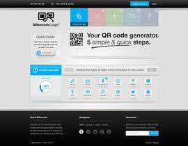 nº 7 pour Design a Website User Interface for QRcode generation company par mbr2