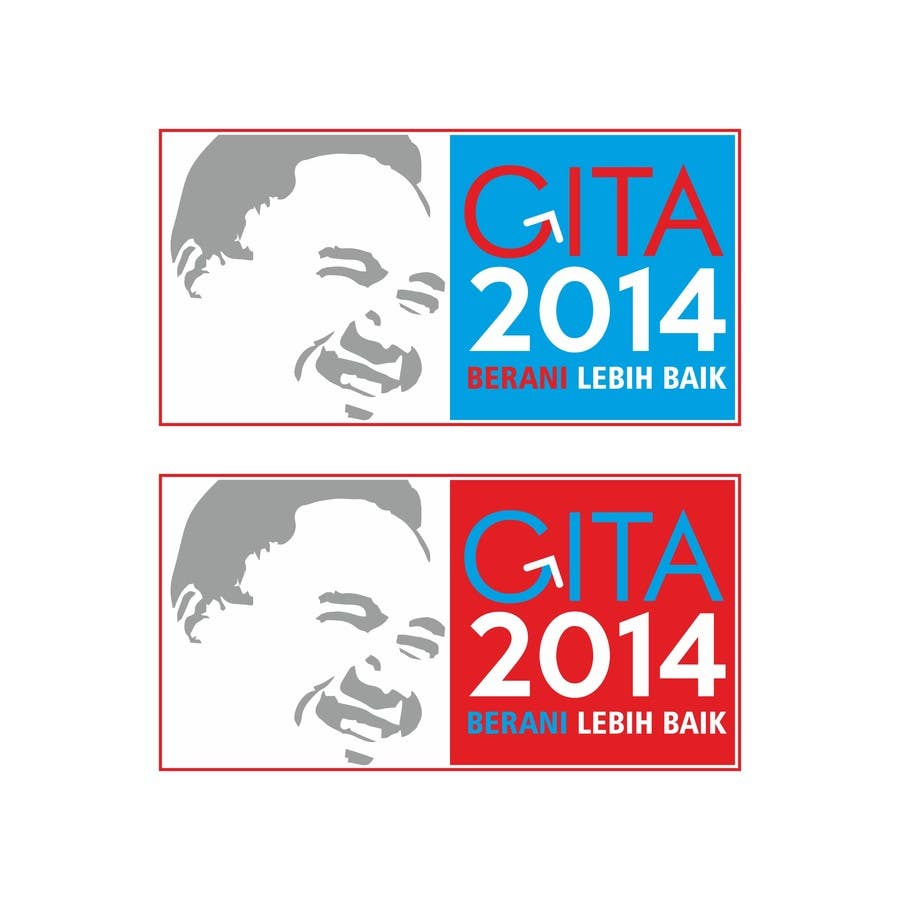 #29 for Design a Logo for an Indonesian President Candidate by carlosmedina78