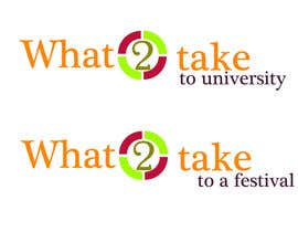 #132 para Design a Logo for What 2 Take por Ramanadotcom