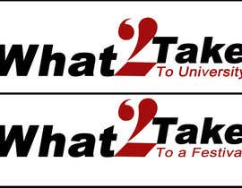 #123 para Design a Logo for What 2 Take por priyajainbbs