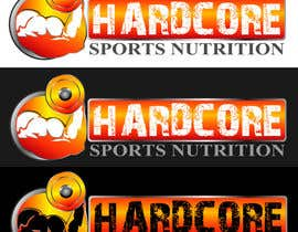 #36 para Design a Logo for Hardcore Sports Nutrition por dandrexrival07