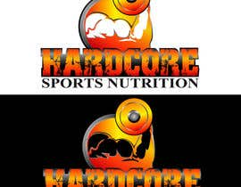#66 para Design a Logo for Hardcore Sports Nutrition por dandrexrival07