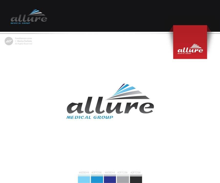 Kilpailutyö #116 kilpailussa New corporate logo for Allure Medical Group