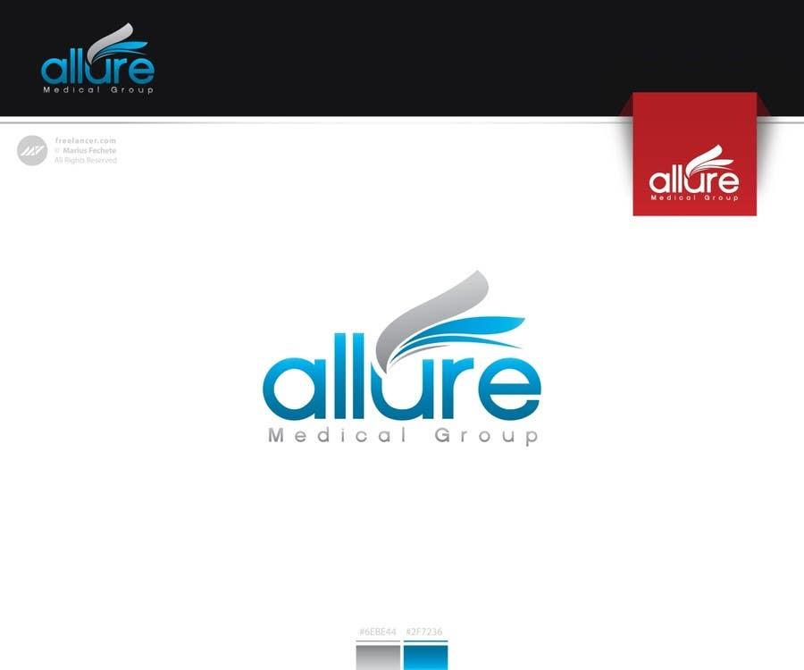 Kilpailutyö #154 kilpailussa New corporate logo for Allure Medical Group