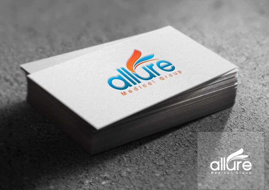 Kilpailutyö #156 kilpailussa New corporate logo for Allure Medical Group