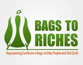 "DanielDesign2810 tarafından Design a Logo for ""Bags to Riches"" için no 83"