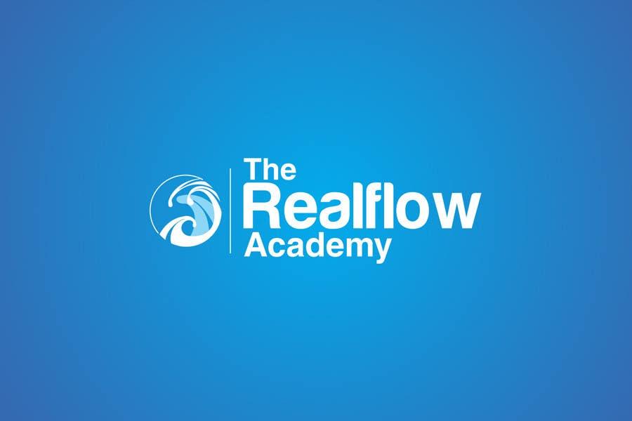 Kilpailutyö #273 kilpailussa Logo Design for The Realflow Academy