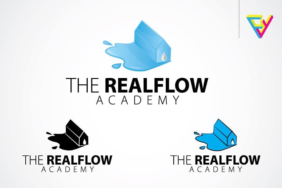 Kilpailutyö #282 kilpailussa Logo Design for The Realflow Academy