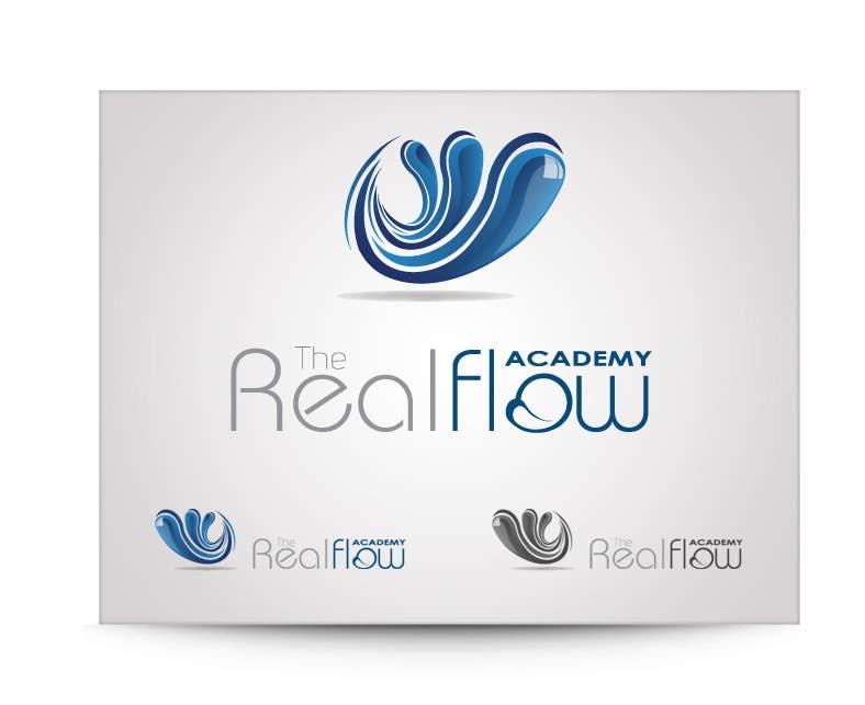 Kilpailutyö #152 kilpailussa Logo Design for The Realflow Academy