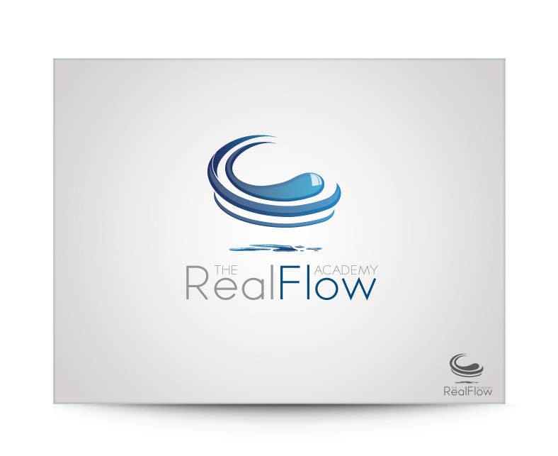 Kilpailutyö #372 kilpailussa Logo Design for The Realflow Academy