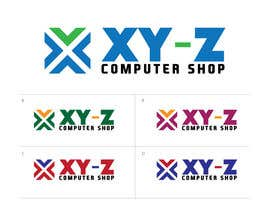 #49 for Design a Logo for XYZ Computer Shop by enshano