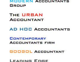 #226 untuk Business name - Accounting firm oleh karlachaffin