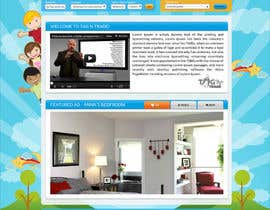 #14 for Design a Website Homepage for www.tntbaby.com.au by asad12204