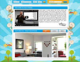 #18 for Design a Website Homepage for www.tntbaby.com.au af asad12204