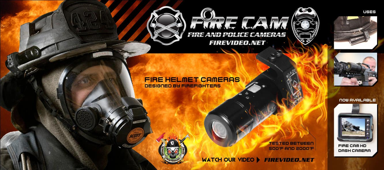 #57 for I need some Graphic Design for our company Fire Cam by enshano