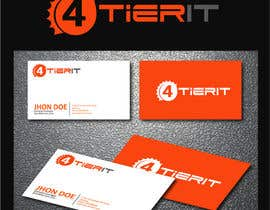 #43 for Design a Logo for 4 Tier IT by texture605