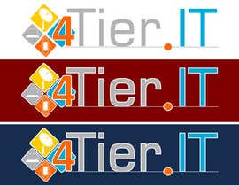 #61 for Design a Logo for 4 Tier IT by minidra