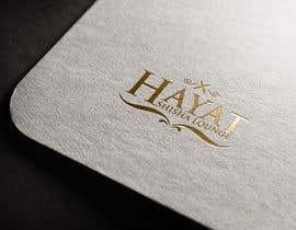 xpertdesign786 tarafından I need a logo for my oriental luxury shisa lounge . the name is    Hayat için no 73