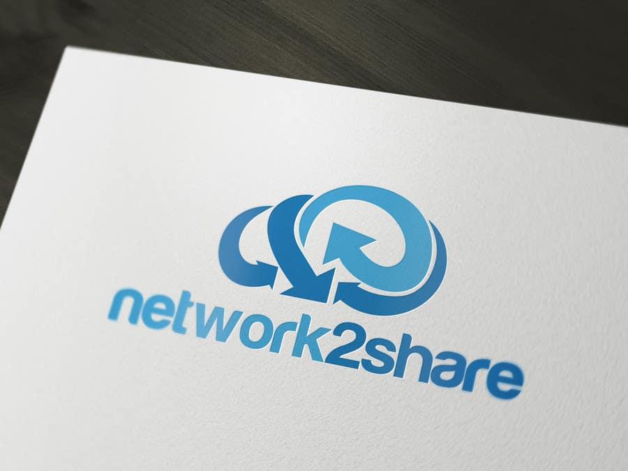 Kilpailutyö #42 kilpailussa Design a Logo for Network2Share (cloud software product)