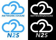 Graphic Design Kilpailutyö #409 kilpailuun Design a Logo for Network2Share (cloud software product)