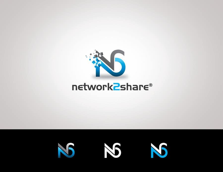 Kilpailutyö #197 kilpailussa Design a Logo for Network2Share (cloud software product)