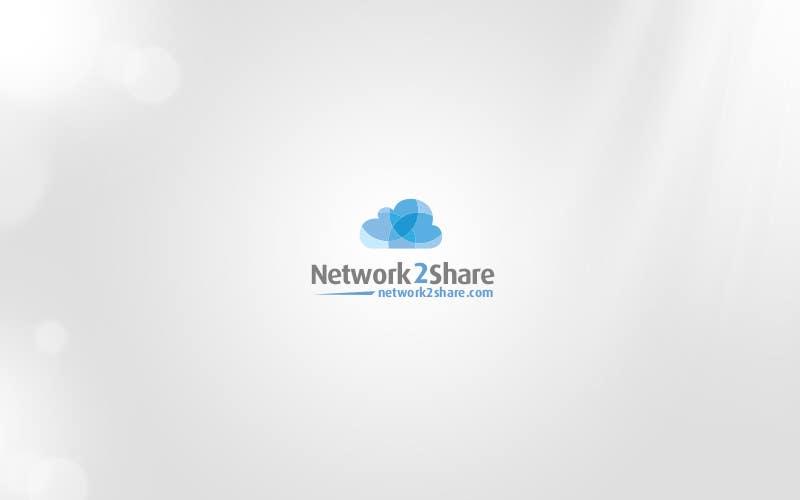 Kilpailutyö #72 kilpailussa Design a Logo for Network2Share (cloud software product)