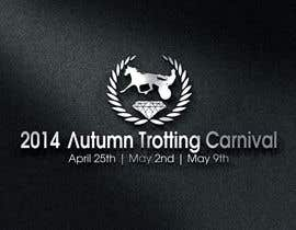 #41 cho Design a Logo for our Autumn Trotting Carnival bởi jeffersonpalileo