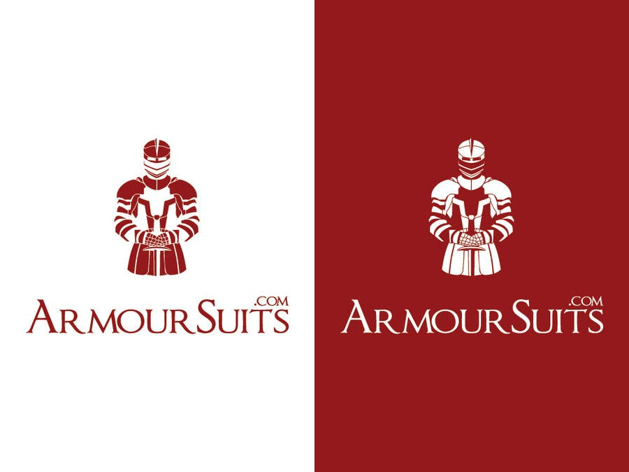#29 for Design a Logo for Custom Suit Tailoring Company: Armour Suits by winarto2012