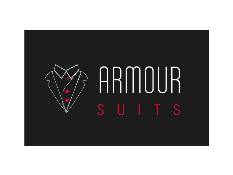 #58 for Design a Logo for Custom Suit Tailoring Company: Armour Suits by web92