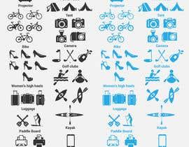 Nro 9 kilpailuun Design some Icons käyttäjältä luutrongtin89