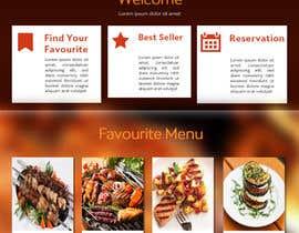Nro 8 kilpailuun website design for an indian restaurant käyttäjältä rginfosystems