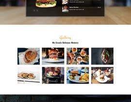Nro 16 kilpailuun website design for an indian restaurant käyttäjältä sangaloma