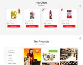 Nro 1 kilpailuun website design for an indian restaurant käyttäjältä zeeshanayaz1