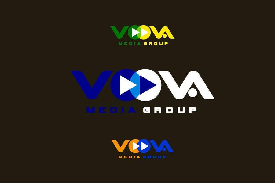 Kilpailutyö #3 kilpailussa Design a Logo for Voova Media Group