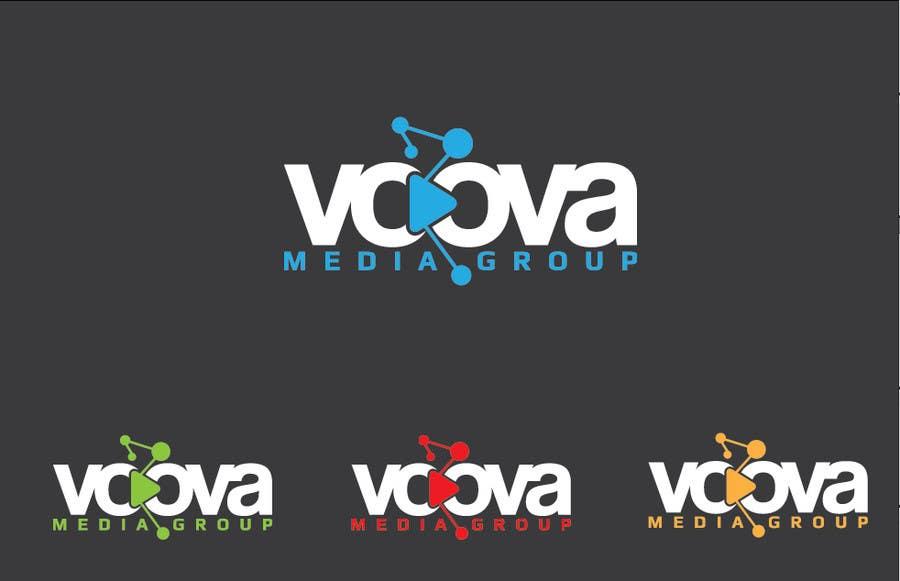 Kilpailutyö #111 kilpailussa Design a Logo for Voova Media Group