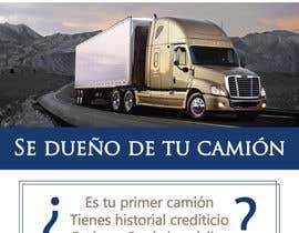 fernandagams tarafından Truck Finance Copmpny -Design a Flyer in Spanish için no 3