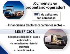 Picholin5 tarafından Truck Finance Copmpny -Design a Flyer in Spanish için no 4
