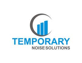 #64 para Design a Logo for Temporary Noise Solutions por ibed05