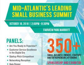 jhenbunag tarafından Design a Flyer for the Mid-Atlantic Small Business Summit 2016 için no 13