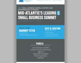 ahmedabdelrahim1 tarafından Design a Flyer for the Mid-Atlantic Small Business Summit 2016 için no 2