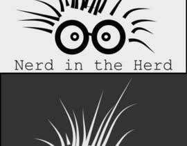 #51 para Logo Design for NerdintheHerd por arvmehta