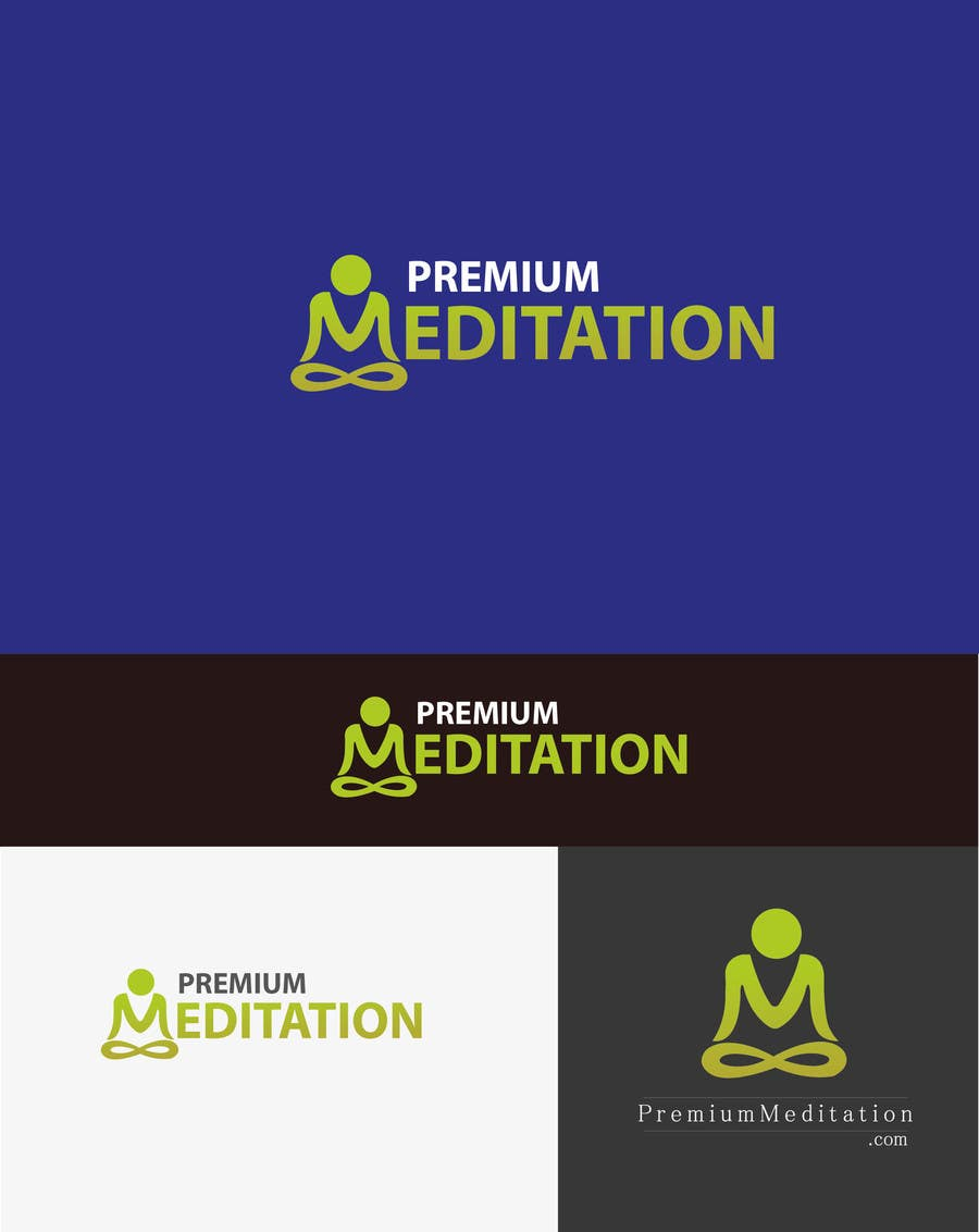 #22 for Design a Logo for Website www.PremiumMeditation.com by AqifAllauddin