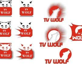 #26 for Design a Logo for TvWolf Mobile App af kenktn