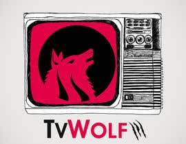 #3 for Design a Logo for TvWolf Mobile App af tedstankovich