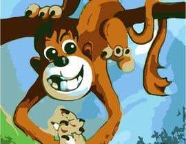 #14 for Illustrate a monkey! by BibinAJ