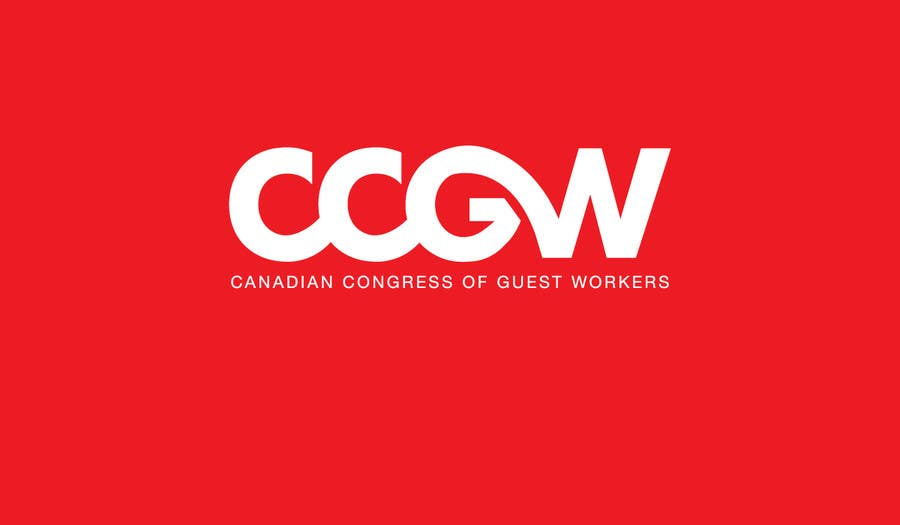 Konkurrenceindlæg #1 for CCGW Canadian Congress of Guest Workers