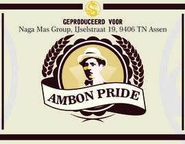 """Nro 29 kilpailuun Create a Label for a brand of beer called """"Ambon Heritage"""" käyttäjältä wahyuguntara5"""