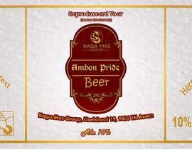 """Nro 31 kilpailuun Create a Label for a brand of beer called """"Ambon Heritage"""" käyttäjältä Mahabub26070"""