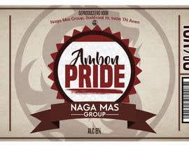"""Nro 16 kilpailuun Create a Label for a brand of beer called """"Ambon Heritage"""" käyttäjältä kylemin95"""