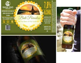 "Nro 17 kilpailuun Create a label for a beer brand called ""Bali Paradise"" with the sub-title ""The Beer of the Gods"" käyttäjältä othmanesami2299"
